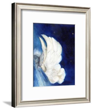 Wings over London, 2013-Nancy Moniz-Framed Photographic Print