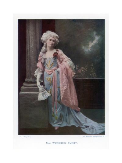 Winifred Emery, English Actress, 1901- Mendelssohn-Giclee Print