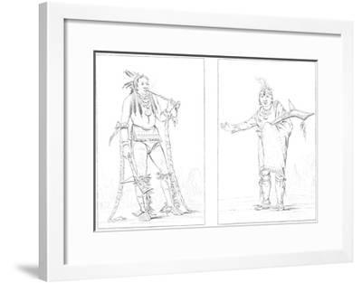 Winnebagoes, 1841-Myers and Co-Framed Giclee Print