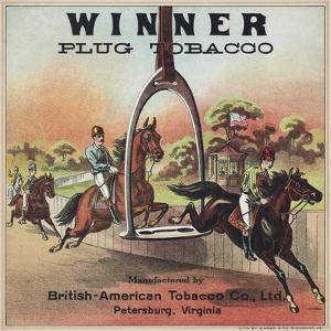 Winner Plug Tobacco Advertisement