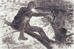 A Sharp-Shooter on Picket Duty, 1862 by Winslow Homer