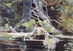 Adirondack Guide by Winslow Homer