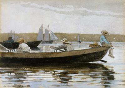 Boys in a Dory, 1873 by Winslow Homer