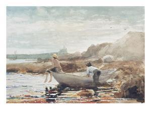 Boys on the Beach by Winslow Homer