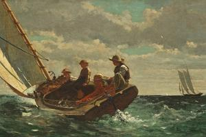 Breezing Up (A Fair Wind) 1873-76 by Winslow Homer