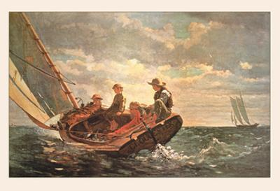 Breezing Up by Winslow Homer