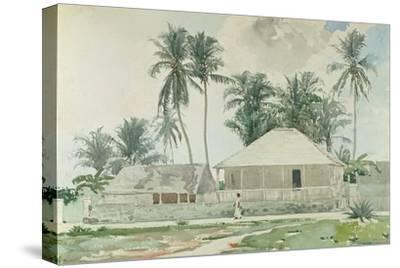 Cabins, Nassau, 1885