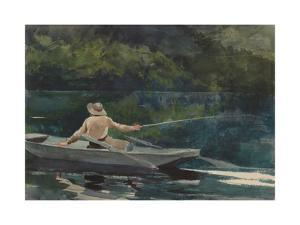 Casting, Number Two, 1894 by Winslow Homer