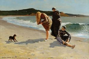 Eagle Head, Manchester, Massachusetts at High Tide by Winslow Homer