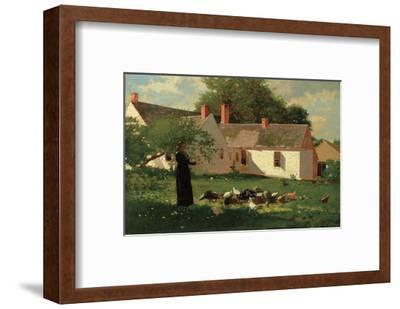 Farmyard Scene, c. 1874