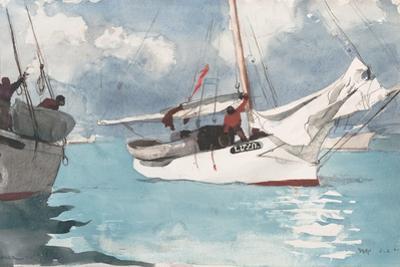 Fishing Boats, Key West, 1903
