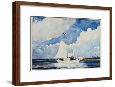 Fishing Schooner, Nassau, C.1898-99