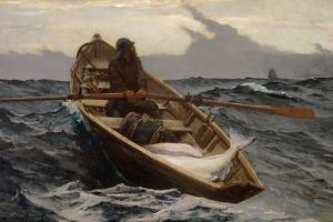 Fog Warning, 1885 by Winslow Homer
