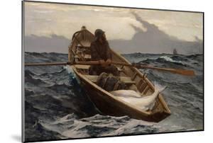 Fog Warning, 1885 by Winslow Homer