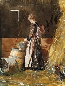 Fresh Eggs, 1874 by Winslow Homer
