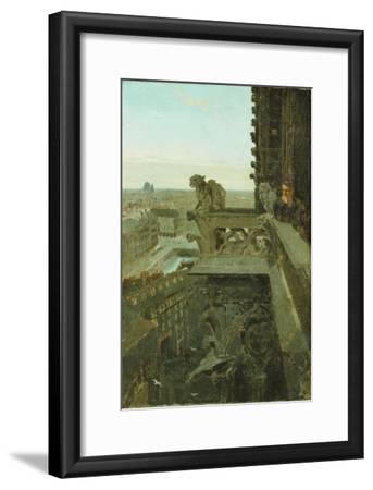 Gargoyles at Notre Dame, 1867