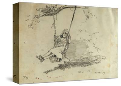 Girl on a Swing, 1879
