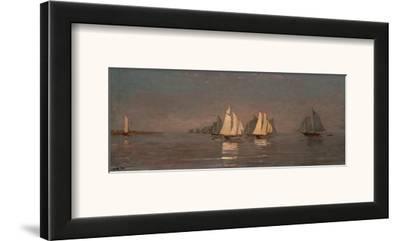 Gloucester, Mackerel Fleet at Dawn, c.1884