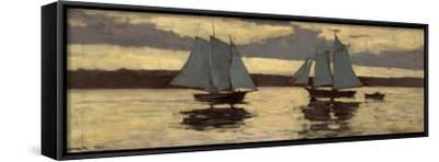 Gloucester, Mackerel Fleet at Sunset, c.1884