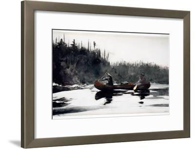 Guides Shooting Rapids, 1895