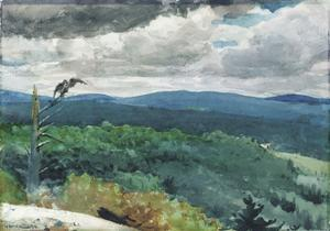 Hilly Landscape, 1894 by Winslow Homer
