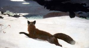 Homer: Fox Hunt, 1893 by Winslow Homer
