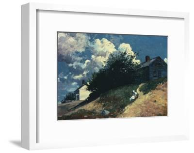 Houses on a Hill, 1879