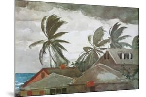 Hurricane, Bahamas, c.1898 by Winslow Homer