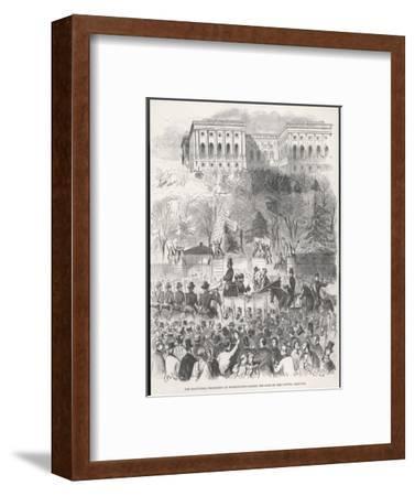 Lincoln is Inaugurated at Washington
