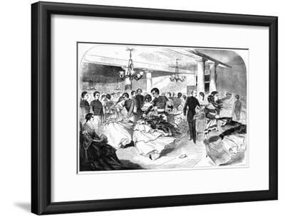 Military Academy, the Hop, Cozzens Hotel, 1859