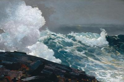 Northeaster, 1895 by Winslow Homer