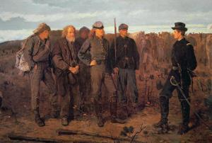 Prisoners from the Front, 1866 by Winslow Homer