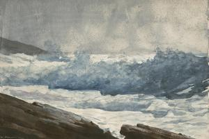 Prout's Neck, Breakers, 1883 by Winslow Homer