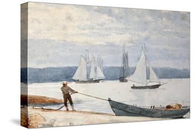 Pulling the Dory, 1880