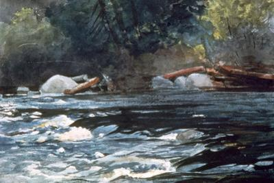 Rapids, Hudson River, 1894 by Winslow Homer