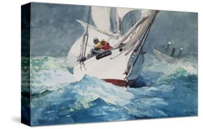 Reefing Sails Around Diamond Shoals, Cape Hatteras