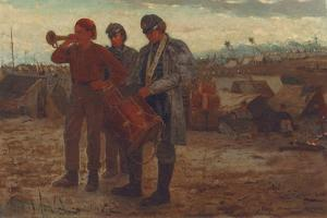 Sounding Reveille, 1865 by Winslow Homer