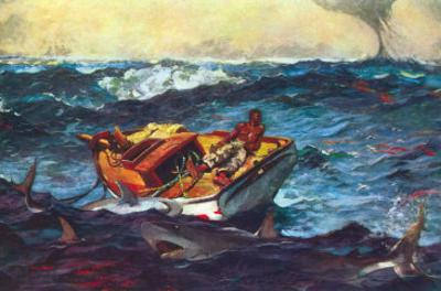 Storm by Winslow Homer