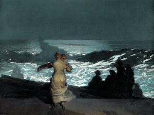 Summer Night by Winslow Homer