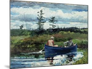 The Blue Boat, 1892 by Winslow Homer