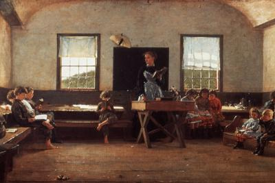 Winslow Homer: the Country School--Photographic Print