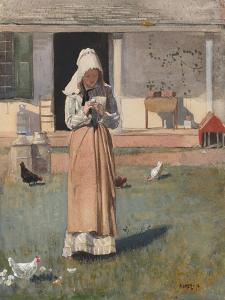 The Sick Chicken, 1874 by Winslow Homer
