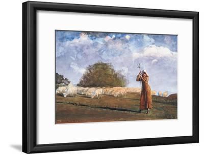 The Young Shepherdess, 1878