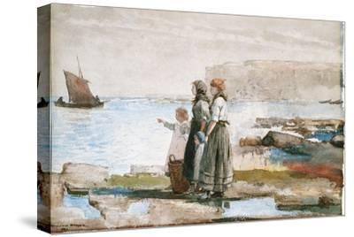 Waiting for the Return of the Fishing Fleets, 1881