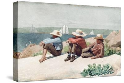 Watching Ships, Gloucester, 1875