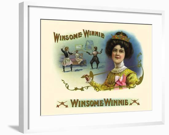 Winsome Winnie- Haywood, Strasser & Voigt Litho-Framed Art Print