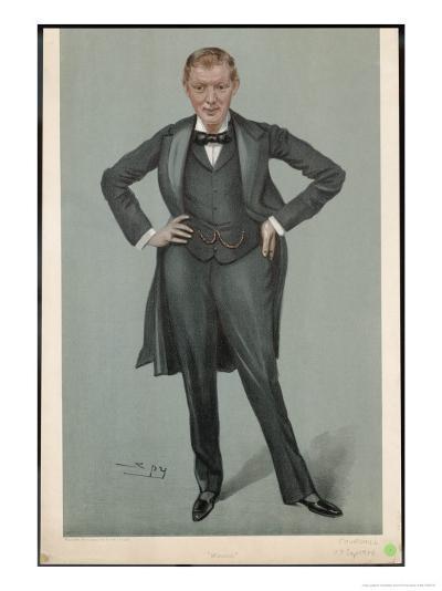 Winston Churchill British Statesman and Author-Spy (Leslie M^ Ward)-Giclee Print