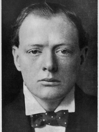 Winston Churchill--Photographic Print