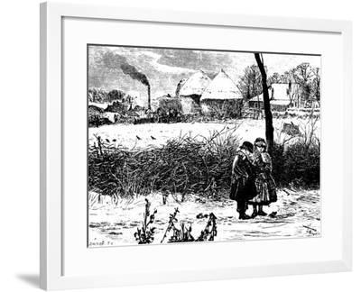 Winter, 1860s-John William North-Framed Giclee Print