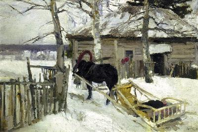 Winter, 1894-Konstantin Korovin-Giclee Print